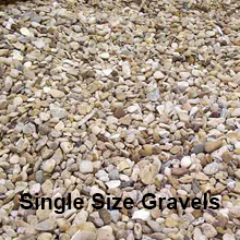 Single Size Gravel | Aggregates  | Bardo Midlands